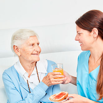 Experto en alimentación y nutrición geriátrica