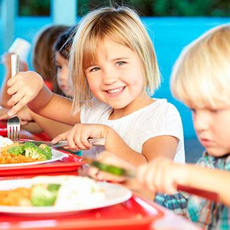Experto en alimentación en el ámbito escolar